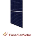 Canadian Solar aurinkopaneeli half cut