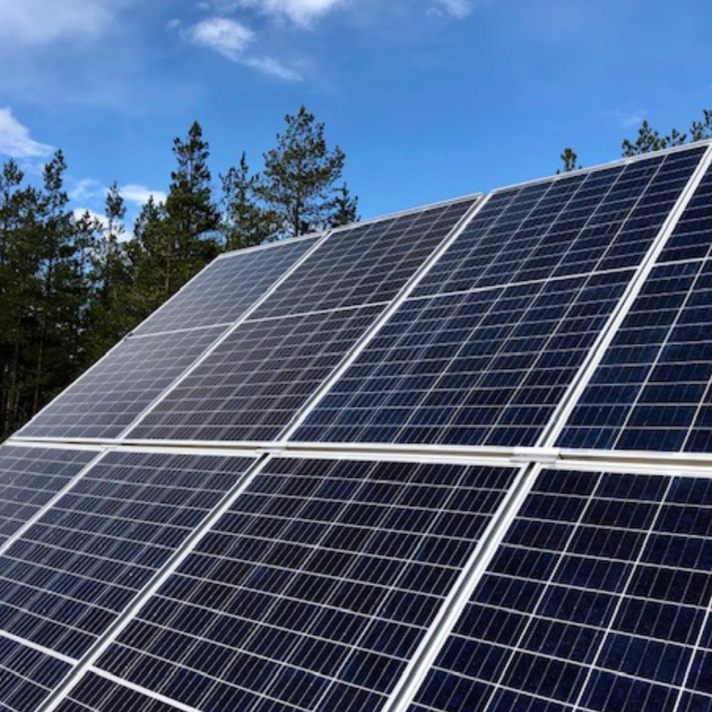 Aurinkoenergia talteen energiatehokkaasti